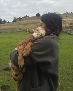 Awwwwwww there is nothing like holding a  baby lamb! Do not eat lamb chops! You are eating this!