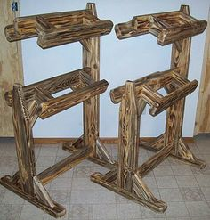 double saddle stands