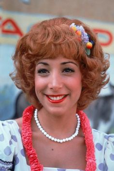 Frenchy from grease Grease 1978, Grease 2, Grease Movie, Sandy Grease, Danny Zuko, Frenchy Grease, Didi Conn, Dinah Manoff, Pink Ladies Grease