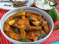 Grandma's mango fish curry Indian Chicken Recipes, Indian Food Recipes, Ethnic Recipes, Red Curry Chicken, Fried Chicken, Fish Cutlets, Sour Taste, Fish Curry, Kitchens