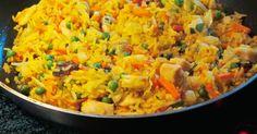 Rezepte für eine Curry Reis Pfanne: entdecken Sie den Orient - Hauptspeisen