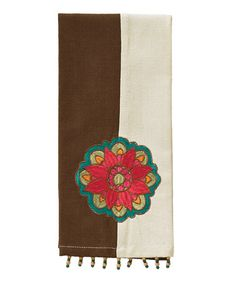 Another great find on #zulily! Eastern Flower Guest Towel by Split P #zulilyfinds