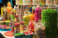 candy, candy, candy and then there is candy and even more candy!