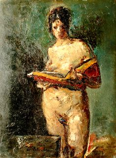 Reading and Art: Gheorge Petrascu Woman Reading, Kids Reading, Reading Art, Figure Painting, Painting & Drawing, Bright Side Of Life, Helmut Newton, Book People, Books