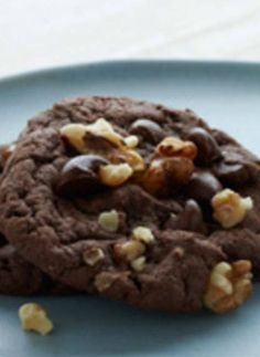 Devil Food Fudge Cookies. The easiest cake mix hack ever! Just get a box of cake mix and turn into this chocolatey dessert.