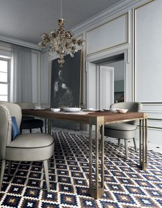 Discover the stylish Brando table by Black Tie- Artemest