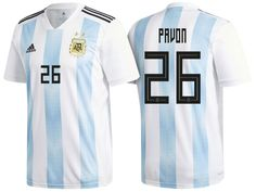 87fd3242d Argentina 2018 World Cup Home Jersey cristian pavon Argentina 2018
