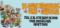 34 Salón Internacional del Cómic - http://www.absolutbcn.com/archives/2016/05/03/15047/