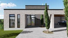 Home Exterior Makeover, Container Architecture, Modern House Plans, Exterior Design, Planer, Facade, Mad, House Design, Patio
