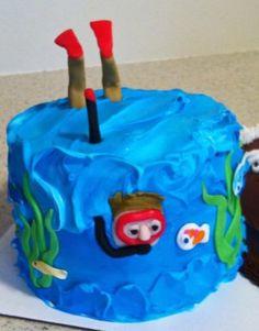 lol scuba cake