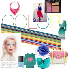 """Go for Colour"" by nikkisg on Polyvore"