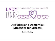 Lady-Links Program Model of Highland Springs Dallas. A practical guide for conducting a visit.