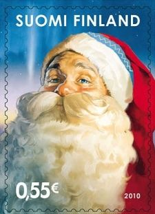 Santa Claus, from Laponia is one of the simbols of Finland. SUOMI is the Finish word for FINLAND and is a slogan for the country.
