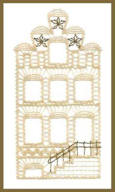 Image Bobbin Lace Patterns, Lace Heart, Lace Jewelry, Cut Work, Lace Making, Thread Crochet, Kirchen, Irish Crochet, Lace Detail