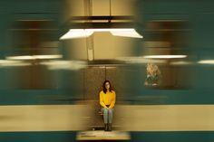 portrait shot at Metro, Montreal
