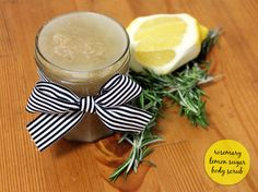 ROSEMARY & LEMON SUGAR BODY SCRUB