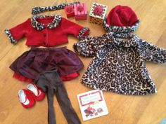 American Girl Bitty Baby Chocolate Cherry Cardigan Skirt Coat Hat | eBay Girl Dolls, Baby Dolls, Baby Doll Clothes, Bitty Baby, Chocolate Cherry, American Girl, Favorite Things, Twin, Hats