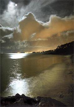 Bangor Lights from Helen's Bay, Bangor, Wales - Ken Lucas - Stunning!