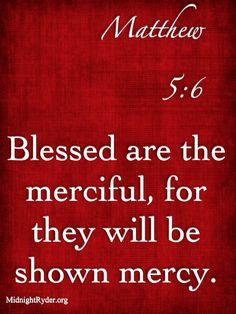 MATTHEW 5:6 \