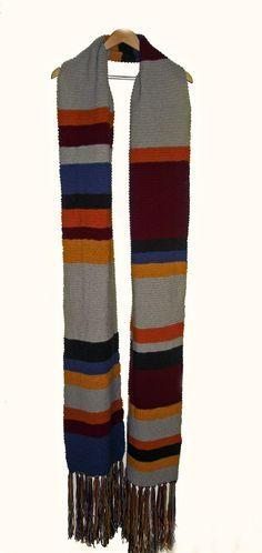 Tom Baker scarf... I could actually see making some cute outfits with this.