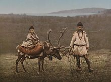 Sami people - Wikipedia, the free encyclopedia... Petroglyphs and archeological findings such as settlements dating from about 10,000 B.C. can be found in the traditional lands of the Sami.