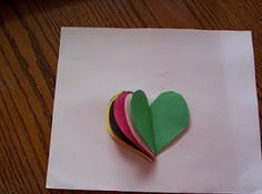 Almost Unschoolers: Wordless Book Valentine - Sunday School Craft; sharing about Jesus Christ and salvation without written words
