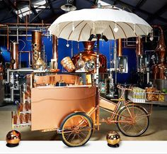 The Sipsmith Tricycle - Cocktail Tricycle | London | UK #cocktails #drink entertainment
