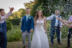 Lucy Bunt married Samuel Cascarina at The Rosevine Hotel, Cornwall. Wedding Confetti, Cornwall, Real Weddings, Wedding Day, Wedding Dresses, Lace, Pictures, Inspiration, Pi Day Wedding