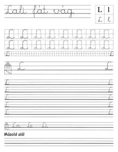 Albumarchívum Alphabet Worksheets, Home Learning, Sheet Music, Album, Writing, Being A Writer, Music Sheets, Card Book