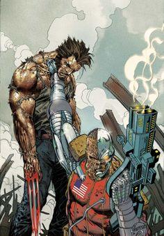 Wolverine by Jason Aaron: The Complete Collection Vol. Marvel Comic Character, Comic Book Characters, Comic Book Heroes, Marvel Characters, Comic Books Art, Comic Art, Book Art, Superman, Batman