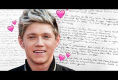 This is what we think Niall Horan's handwriting says about him