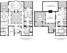 Moroccan style house layout