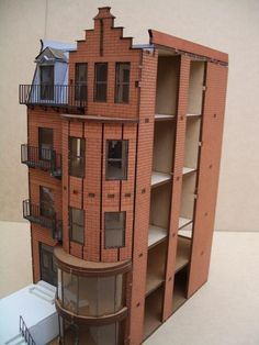 dollhouse apartment buildings | don't think this company still makes dollhouses but this was one is ...