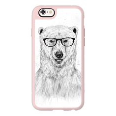 iPhone 7 Plus/7/6 Plus/6/5/5s/5c Case - Geek bear ($40) ❤ liked on Polyvore featuring accessories, tech accessories, new standard iphone case, iphone hard case, iphone cases, iphone cover case and apple iphone case