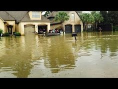 Louisiana Flood of 2016: Watch aerial video of flooding in Baton Rouge Woodlawn area - YouTube