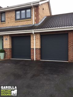With a Roller Garage Door you can sleep smoothly at night knowing that your garage is keeping your home safe from intruders. Click below to see our insulated roller garage doors prices. Grey Garage Doors, Single Garage Door, Garage Doors Prices, Electric Garage Doors, Garage Door Design, Garage Walls, Roller Doors, Roller Shutters, Electric Rollers