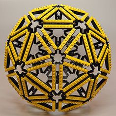Pentakis Dodecahedron (Dead Homer) Tags: ball lego sphere math polyhedron