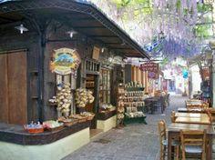 Lesvos, Greece  Petra street
