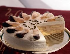 """A Classic, Malakoff Torte Recipe from 'Austrian Desserts and Pastries' - """" I turn to the classics with Malakoff Torte which has its origins in Russia or to be more specific the Crimean War."""""""
