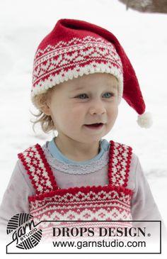 fdb5cbce4e56 Berretto di Natale ai ferri per bambini e ragazzi in DROPS BabyMerino