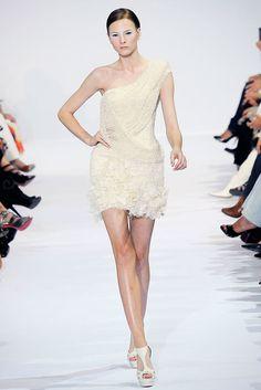 Elie Saab Fall 2009 Couture Fashion Show - Irina Kulikova