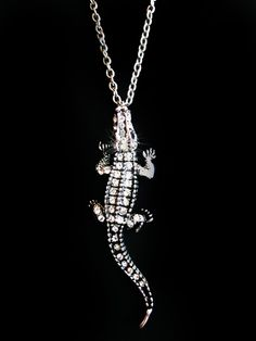 Collar Cocodrilo / Alligator Neckless CLM105  COP$35,000    Compralo ahora con -Pagos Online- en:  http://pandoo.co/