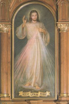 Divine Mercy (Adolf Hyla painting)2007-08-16 - Divine Mercy image - Wikipedia, the free encyclopedia