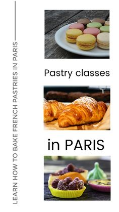 Take a pastry class in Paris and learn how to bake classic french pastries like Macarons or Croissants. Learn from professional french chefs in a cooking class in Paris how to bake authentic french desserts. Great baking and pastry courses, classes and workshops in Paris for all foodies that are visiting Paris and want to take a special experience back home.