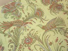 PRODUCT TYPE: BIRD/FLORAL FABRIC  MANUFACTURER: THIBAUT   CATEGORIES:Cotton #Fabric , #Ikat Fabric, Natural Fabric , Luxury Fabric  ORIGIN:   PATTERN NAME:  KIRKWOOD... #fabric #toile #printed #ikat #yardage #blue #supplies #commercial #bird #floral #vintage #kirkwood #f98607 #birds #yellow