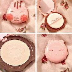 Cats Clear Wink Compact. Formulated without five chemicals (Parabens, Minerals, Ethanol, Benzophenone, Tar Coloring) to provide a natural healthy glow to your skin.  Photo from @brbcrawlingtokorea @memeboxcorp