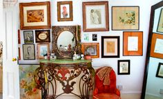 Creative Walls: How to Display and Enjoy you Treasured Collections Huge Mirror, Creative Walls, Gallery Wall, Vanity, Collections, Display, Frame, Pictures, Home Decor
