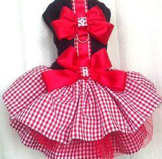 Glamour  Dog dress for the four-legged girly-girl by LaVitaPetFashion on Etsy, $39.99