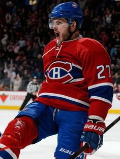 Alex Galchenyuk is my favorite hockey player and I want to meet him Hockey Goal, Ice Hockey, Montreal Canadiens, Hockey Memes, Billie Jean King, Of Montreal, National Hockey League, Club, Canada