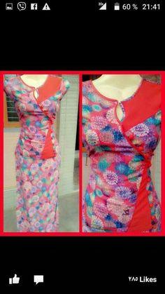 Kurti Neck Designs, Dress Neck Designs, Blouse Designs, Ladies Suits, Suits For Women, Clothes For Women, Suit Pattern, Neck Pattern, Myanmar Traditional Dress